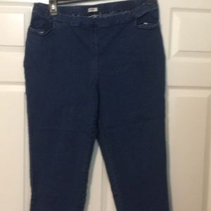 22w tall pull up jeans